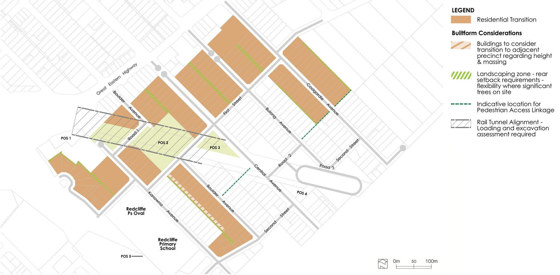 Residential Core Precinct Map